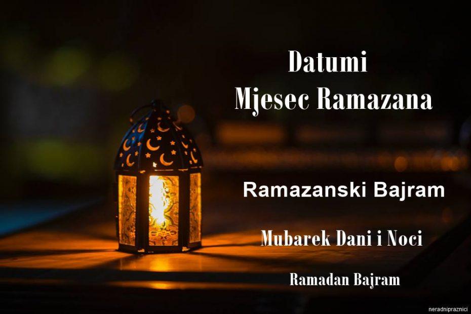 Ramazanski Bajram 2021 2022 2023 Kad je Ramazan 2021 2022 Ramadan Bajram, Bajram 2021, Prvi Dan Ramazana 2021, Mubarek Dani i Noci 2021, Mjesec Datum